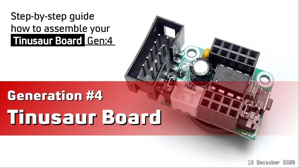 Tinusaur Board Gen4 - Assembling Guide