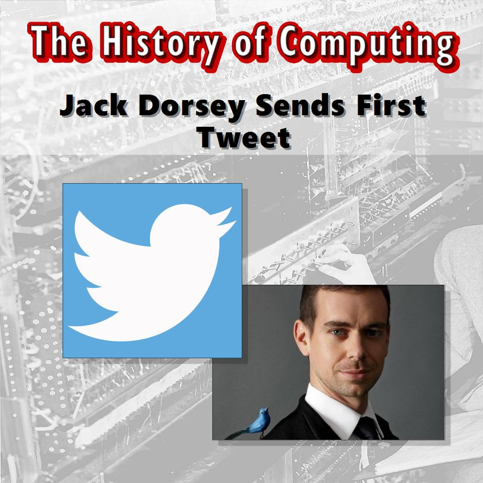 Джак Дорси изпраща първия туит