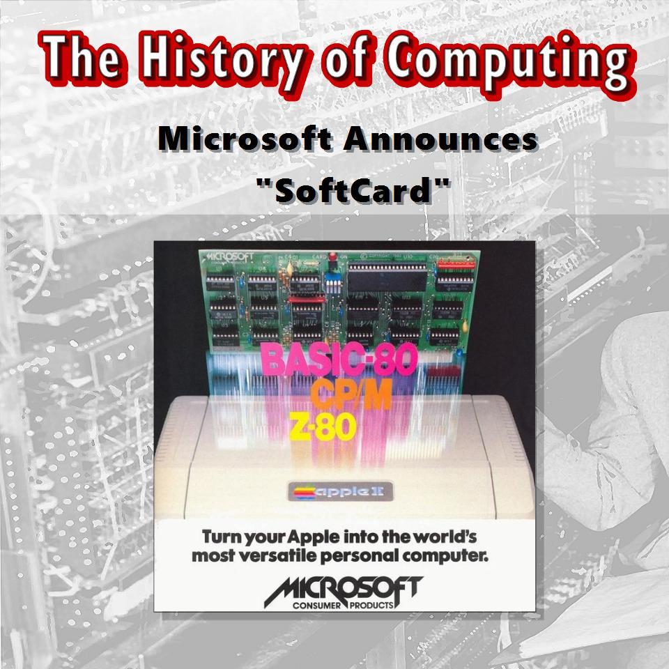 "Microsoft Announces ""SoftCard"""