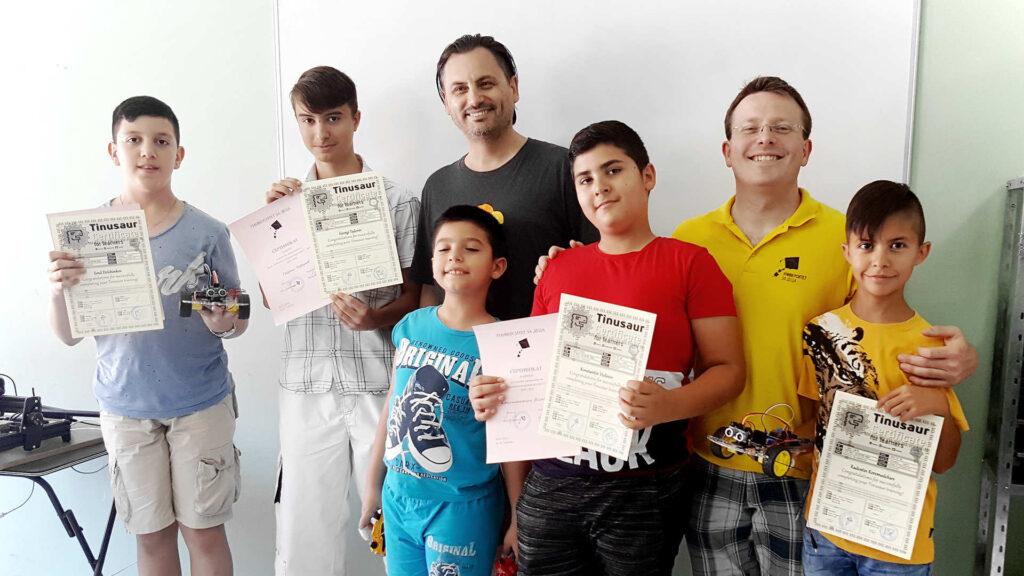 Сертификати курс ученици