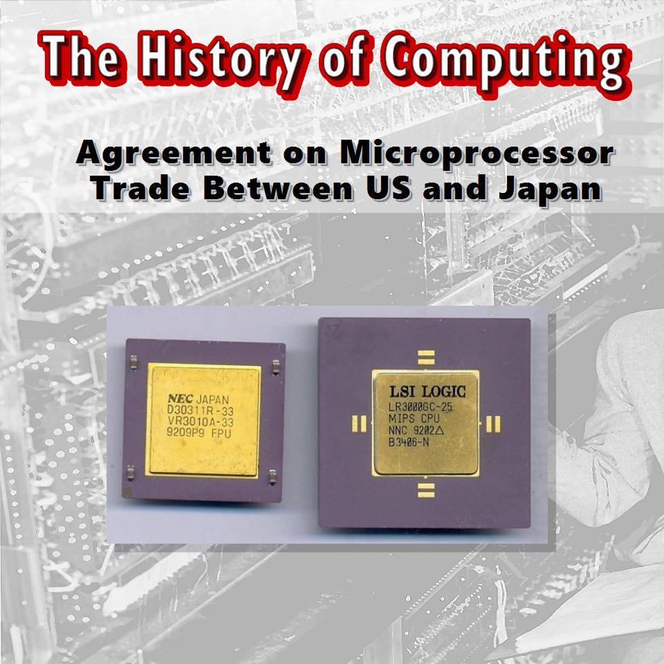 Споразумение за микропроцесорна търговия между САЩ и Япония