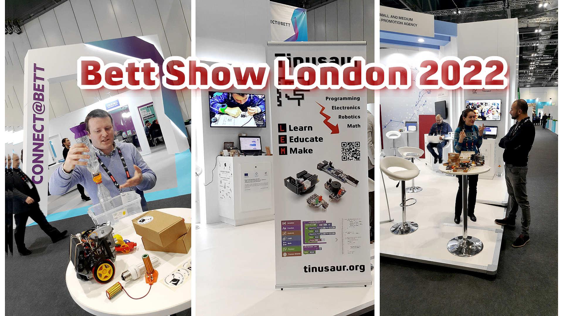 Участие в Bett Show London 2022 на български фирми